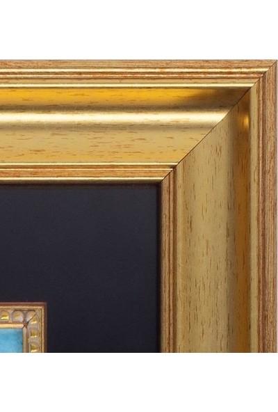 Panoramik Özgün Temalı 49.5 x 41.5 cm Sulu Boya Tablo