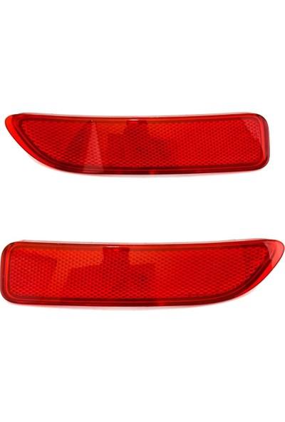 Otozet Dacia Logan Arka Tampon Reflektörü 8200751779 - 8200751778 Sağ Sol Takım