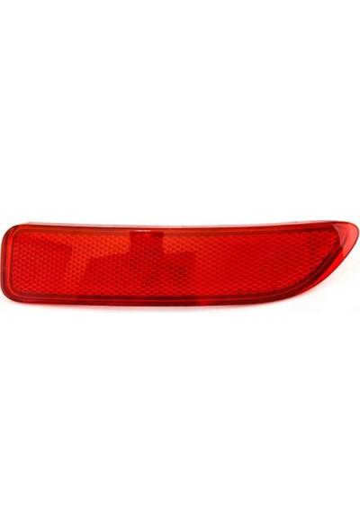 Otozet Dacia Logan Arka Tampon Reflektörü 8200751779 - 8200751778 Sol Taraf