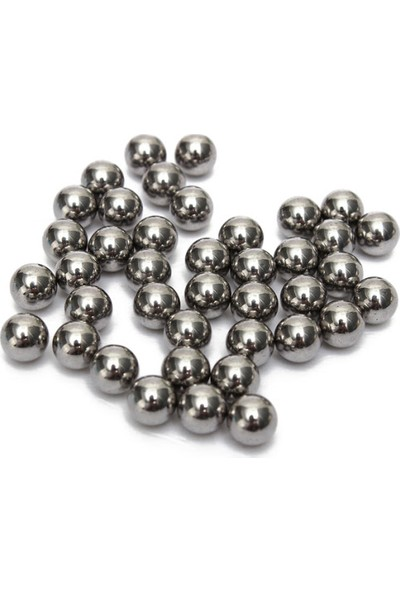 AYT Ticaret Çelik Sapan Bilyesi 100 Adet 9,5 mm Çelik Tekli Atıma Uygun Üründür