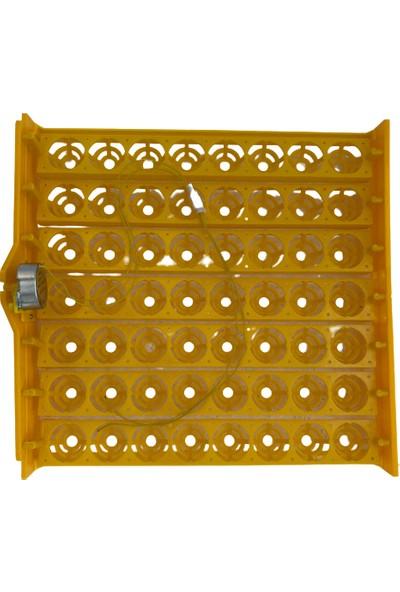 Efe Kuluçka Makineleri 56 Tavuk Yumurtası Viyolü 1-240 Rpm Motor