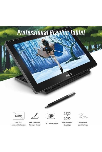 Bosto BT16HD 15.6 Inç Grafik Çizim Tableti (Yurt Dışından)