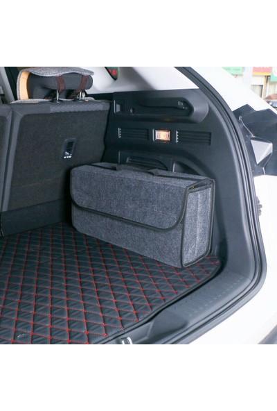 Ankaflex Araç Oto İçi Bagaj Organizer Alet Eşya Düzenleyici Keçe Çanta