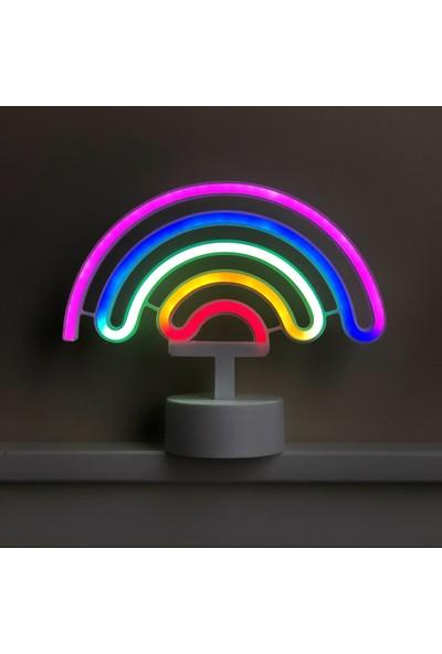 Technophone Dekoratif Neon Gökkuşağı Lamba 16X30 cm