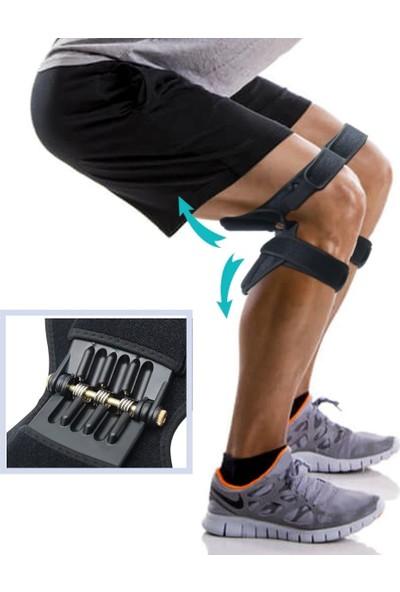 Buffer Yaylı Dizlik Egzersiz Aleti Medikal Bacak Destekli Spor Aleti