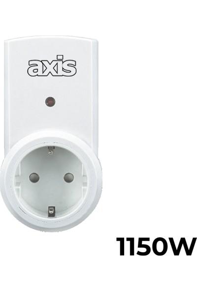 Axis 3'lü Uzaktan Kumandalı Priz Set 1150 W