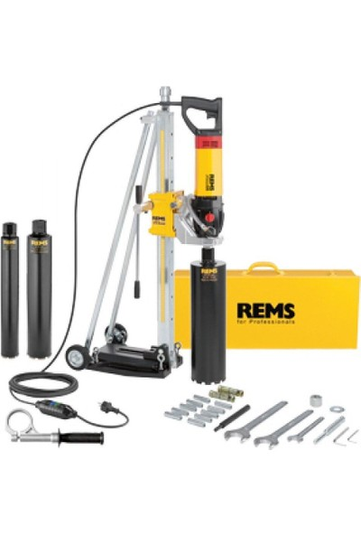 Rems Picus Sr Set Simplex 2 Elektrikli ve Elmas Donanımlı Karot Makinası ART-183010+183700