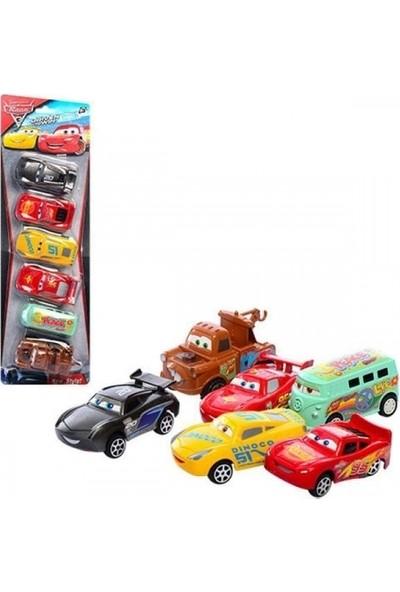 Ysn Toys Cars 6.lı Sevimli Çek Bırak Arabalar