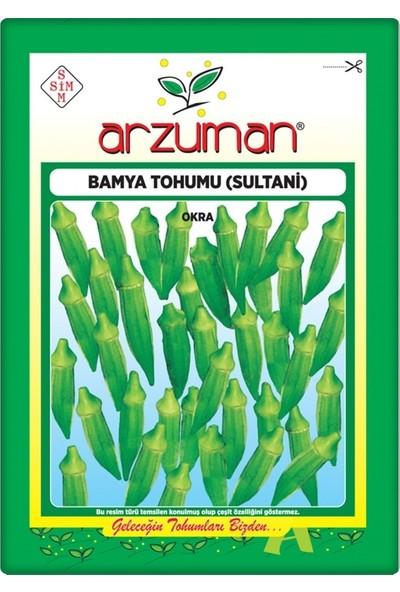 Arzuman Bamya Tohumu (Sultani) 25 gr