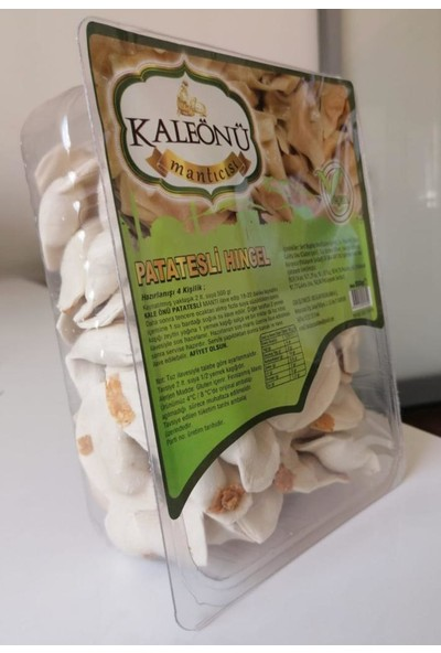 Kaleönü Mantıcısı Vegan Patatesli Hingel 500 gr