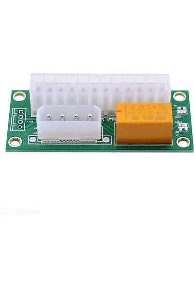 Atx 24PIN To 4pin Çift Psu Güç Kaynağı Power Supply Çoklayıcı