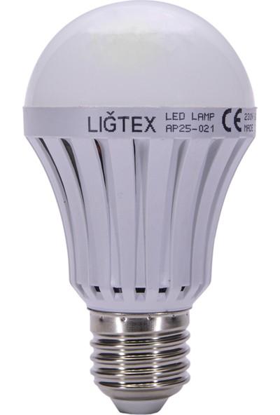 Lıgtex Led Ampul 8 W E27 Beyaz