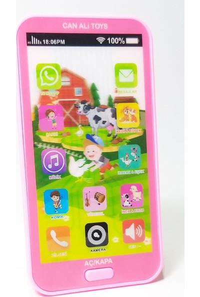 Can Ali Toys Oyuncak Dokunmatik Cep Telefonu Türkçe Sesli 12 Fonksiyonlu