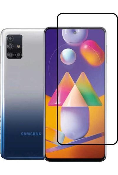 Zore Samsung Galaxy M51 Zore Kenarları Kırılmaya Dayanıklı Cam Ekran Koruyucu