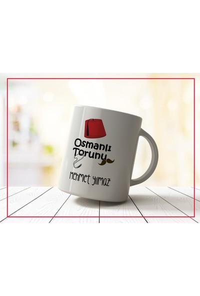 Sancak Kupa Kişiye Özel Isimli Osmanlı Torunu Kupa Bardak