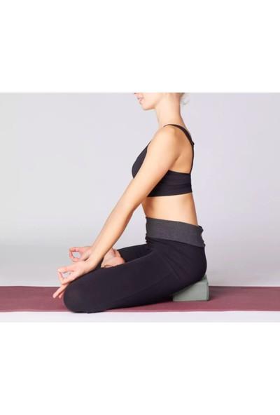 Domyos Köpük Yoga Bloğu - Koyu Gri Domyos