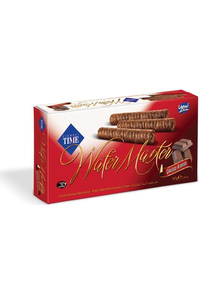 Çizmeci Time Wafer Master 65 gr Çikolatalı