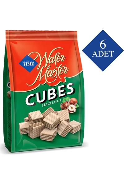 Çizmeci Time Wafer Master Cubes Fındıklı 100 gr 6 'lı Paket
