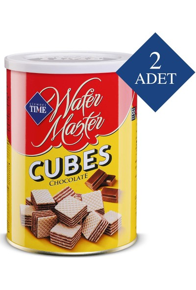 Çizmeci Time Wafer Master Cubes Çikolatalı 220 gr 2 'li Paket