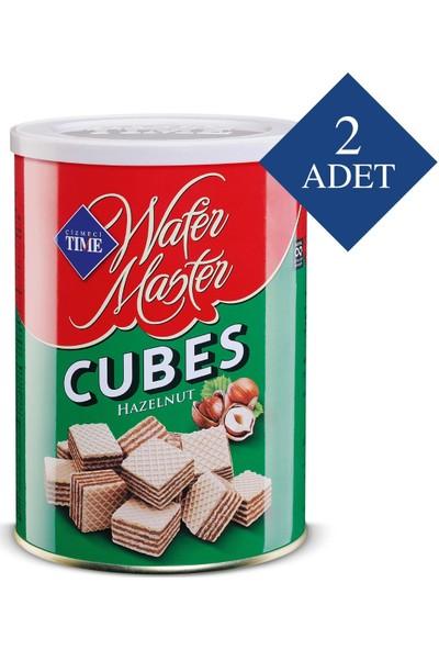 Çizmeci Time Wafer Master Cubes Fındıklı 220 gr 2 'li Paket