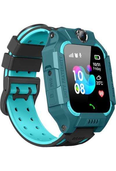 Repex RP500/2020 Sim Kartlı Kayıp Güvenlik Akıllı Çocuk Saati - Mavi