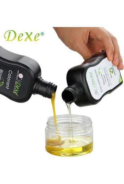 Dexe 2 Set - Dexe Saç Renklendirici Şampuan 200 ml+200 ml Siyah Saç Bakım Beyazlık Giderici