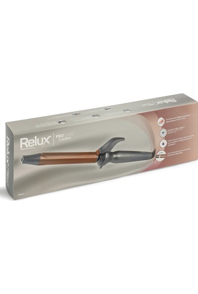 Relux RC6925 Procare Comfort 25 mm 210°C Iyonik Keratin Korumalı Saç Maşası