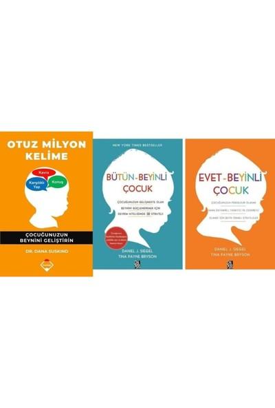 Otuz Milyon Kelime - Evet - Beyinli Çocuk - Bütün-Beyinli Çocuk 3 Kitap Set