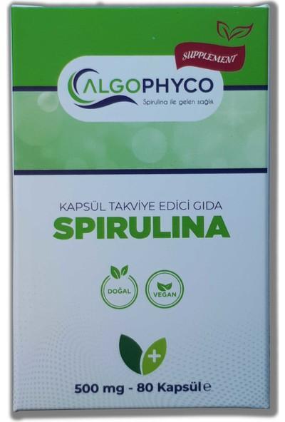 Algophyco Spirulina 80 Kapsül