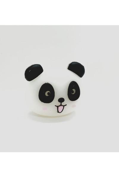 Mürdüm Case Sevimli Panda Kablo Koruyucu