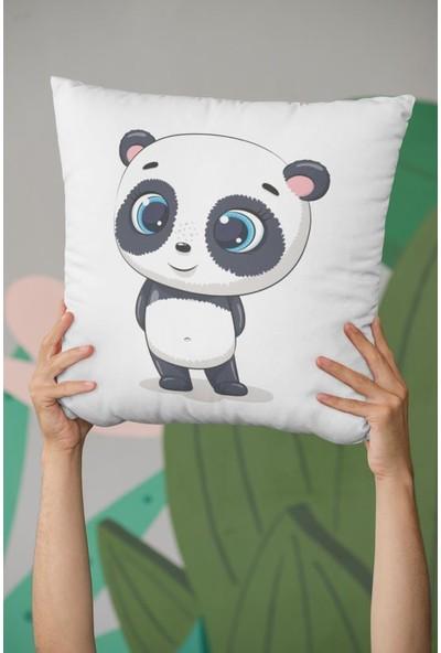 Kırlenthome 4'lü Panda Seri Kırlent Kılıfları