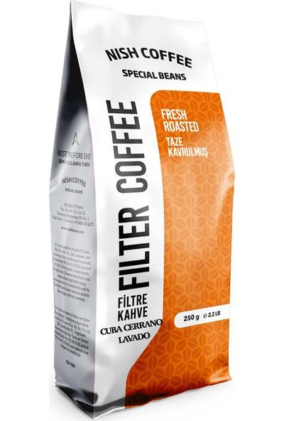 Nish Özel Seri Küba Cerrano Çekirdek Kahve 250 gr