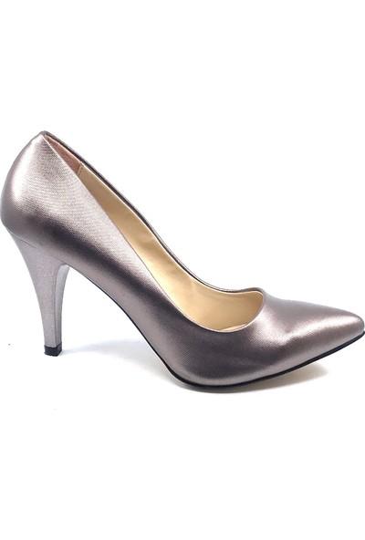 Ceylan Gümüştopuklu Kadın Ayakkabısı