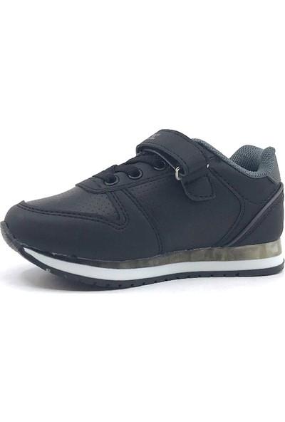 Cool 19-K12 Patik Siyah Erkek Çocuk Spor Ayakkabısı