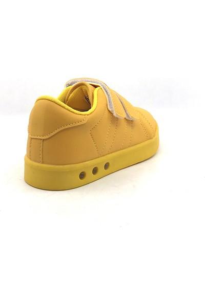 Cool 19-K23 Patik Sarı Erkek Çocuk Spor Ayakkabısı