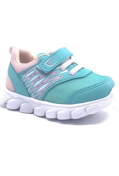 Cool 20-S12 Su-Yeşili Kız Bebe Yazlık Spor Ayakkabı