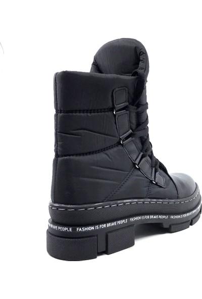 Scarletta 105 Siyah Kışlık Kadın Kar Botu