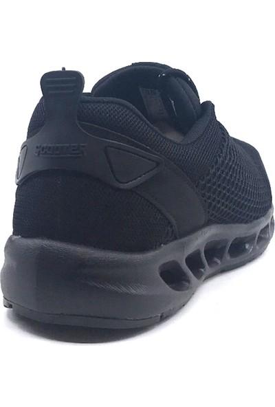 Scooter M5462 Siyah Erkek Fileli Memory Taban Yazlık Spor Ayakkabı