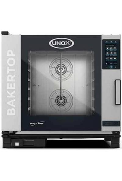Unox Bakertop Plus Kombi Fırın (6-40X60 Tepsi Kapasiteli) - Gazlı - XEBC-06EU-GPR