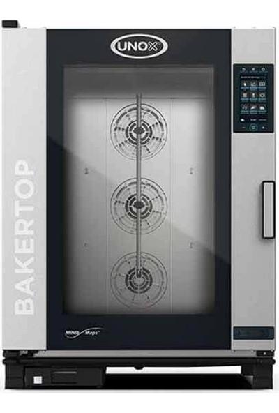 Unox Bakertop Plus Kombi Fırın (10-40X60 Tepsi Kapasiteli) - Gazlı - XEBC-10EU-GPR