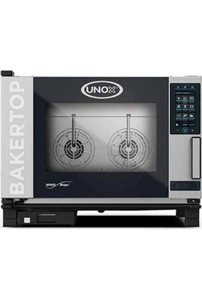 Unox Bakertop Plus Kombi Fırın (4-40X60 Tepsi Kapasiteli) - Elektrikli - XEBC-04EU-EPR