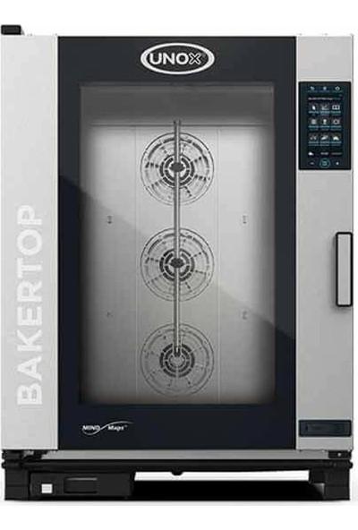 Unox Bakertop Plus Kombi Fırın (16-40X60 Tepsi Kapasiteli) - Gazlı - XEBC-10EU-GPR