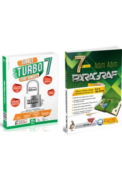 Model Yayınevi 7. Sınıf Turbo Türkçe Soru Bankası ve Çanta Yayınları Adım Adım Paragraf