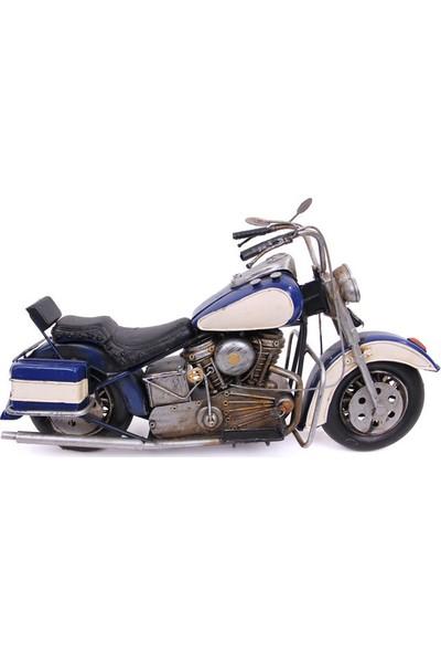 Mnk Home Dekoratif Metal Motosiklet