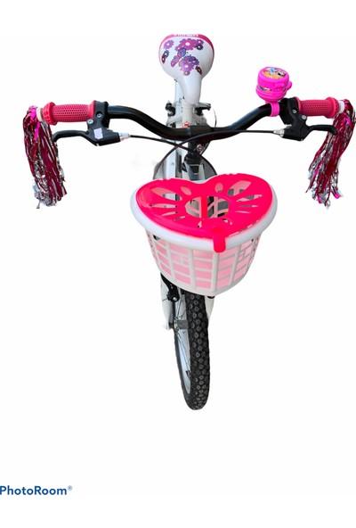 Bisiklet Sepeti , Aynalı Zil, Püskül 3'lü Mega Set