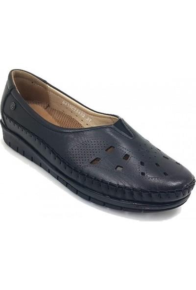 23432 Forelli Günlük Kadın Ayakkabı-Siyah