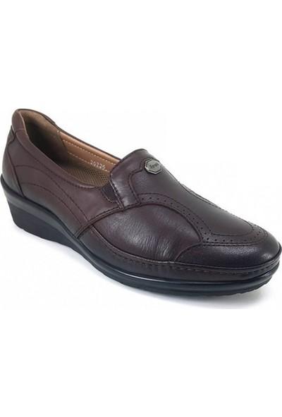 26226 Forelli Günlük Kadın Ayakkabı-Kahverengi