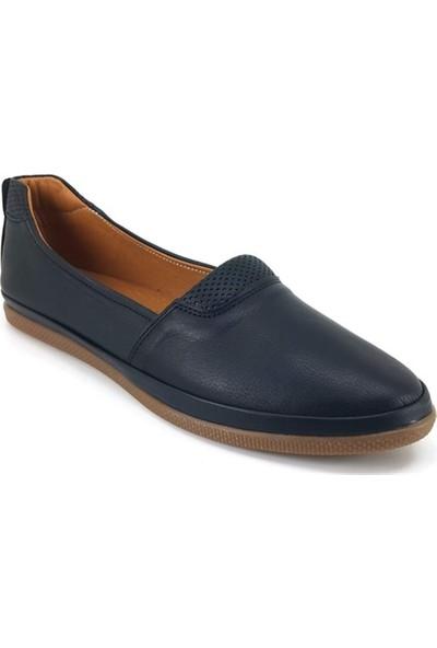 63 Estile Günlük Kadın Ayakkabı-Siyah
