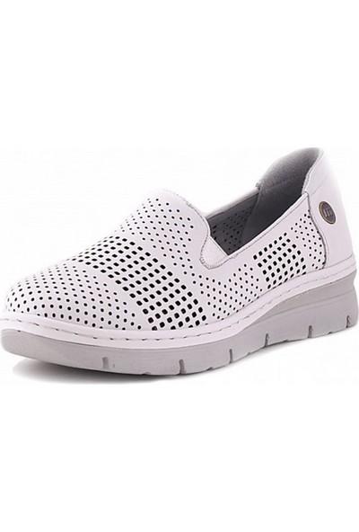 650 Mammamia Günlük Kadın Ayakkabı-Beyaz