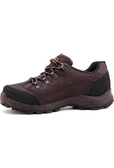 1233 Scooter Günlük Su Geçirmez Erkek Ayakkabı-Kahverengi